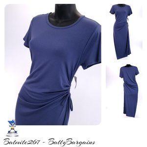 Sm NWT Gap T-Shirt Dress SoftSpun Cinch Hip NEW